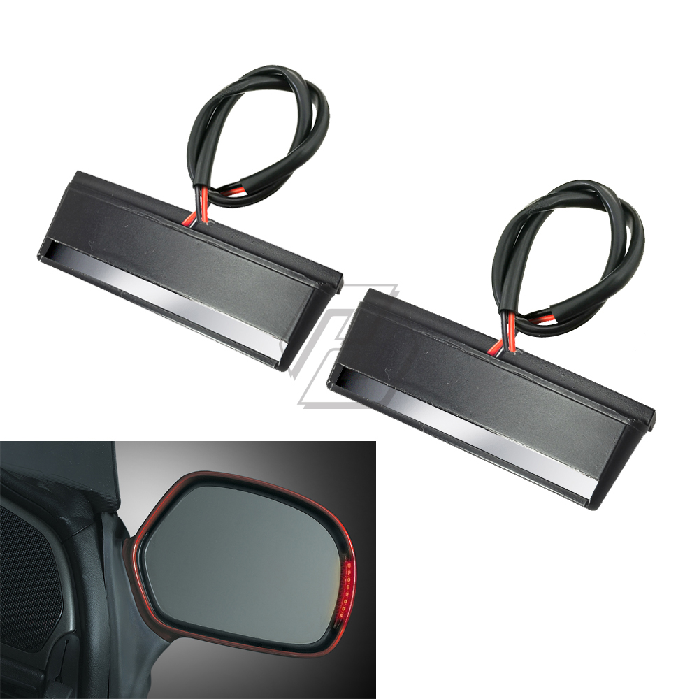 Motorcycle LED Mirror Light Case for <font><b>Honda</b></font> <font><b>Gold</b></font> <font><b>Wing</b></font> GL1800 ABS <font><b>GL</b></font> <font><b>1800</b></font> 2001-2017 image