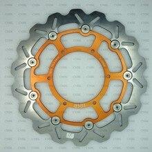 Rotor de frein à disque avant de 310mm, pour SUZUKI Dirt DR-Z DRZ 400 Supermotard avec disque de 320mm DRZ400 DR-Z400 et up 00