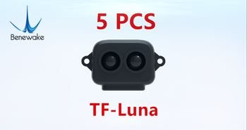 5 PCS TF-Luna Benewake Lidar Range Finder Sensor Module Single Point Ranging for Arduino Pixhawk Drone UART version