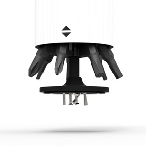 Image 3 - Youpin Wowstick Wowcase ترقية صغيرة 52 مللي متر 7 قطعة المسمار الكهربائي سائق مثقاب الخشب صندوق للسائقين المسمار الكهربائي