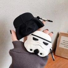 3D Earphone Case For Airpods Pro Case Silicone Cute Cartoon Alien Headphone/Earpods