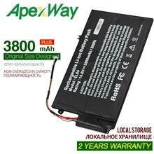 ApexWay 3800mAh14.8V battery for HP ENVY 681879-171 PR4 I5-3317U 4 4T-1000 TouchSmart ELO4XL 681879-541 EL04 4 EL04XL 681879-1C1