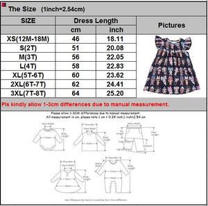 Image 3 - Hot sale baby dress girls printing pattern dresses kids party dress for kids children frocks designs