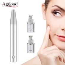Dr Pen Dermo Pen Machine MTS Derma pen Rechargeable Microagulhamento Pen Nano Microneedles Head Professional Beauty Equipment