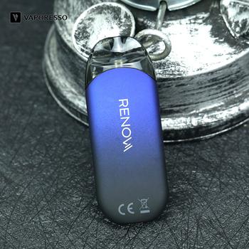 Oryginalny Vaporesso Renova Zero Pod Vape z 2ml wkładami zbiornikowymi 650mah wbudowana bateria Mod VS Vaporesso Nexus Starter E Cig tanie i dobre opinie Z Baterią Kształt skrzynki Brak Metal Renova Zero Cartridges Wbudowany