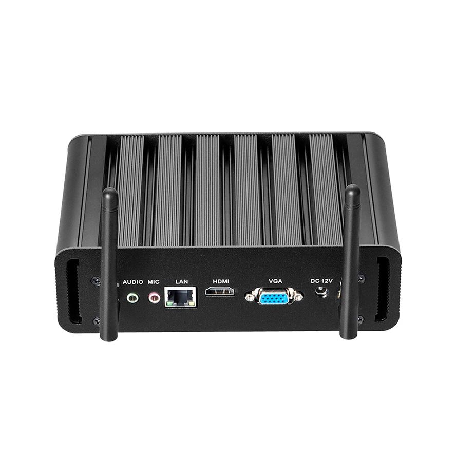 Mini PC Intel Core I7 6500U I5 6200U I3 HTPC Computer Linux Windows 10 MiniPC Gamer Desktop Micro Nuc Ordenador Sobremesa