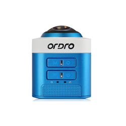 ORDRO D5 Sport Camera 360 Video Camera Full View Mini Camcorder 1080p Full HD Digital Video Camera WiFi Portable