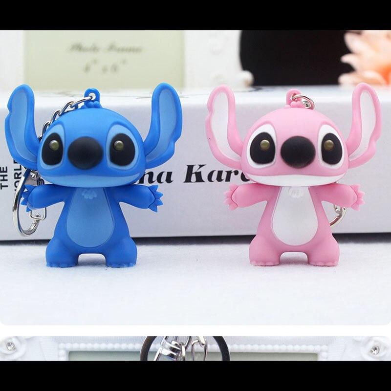 Disney Charms Disney Gifts for Her Anime Christmas Gift Stocking Stuffer Disney Keychain Lilo and Stitch Stitch Keychain