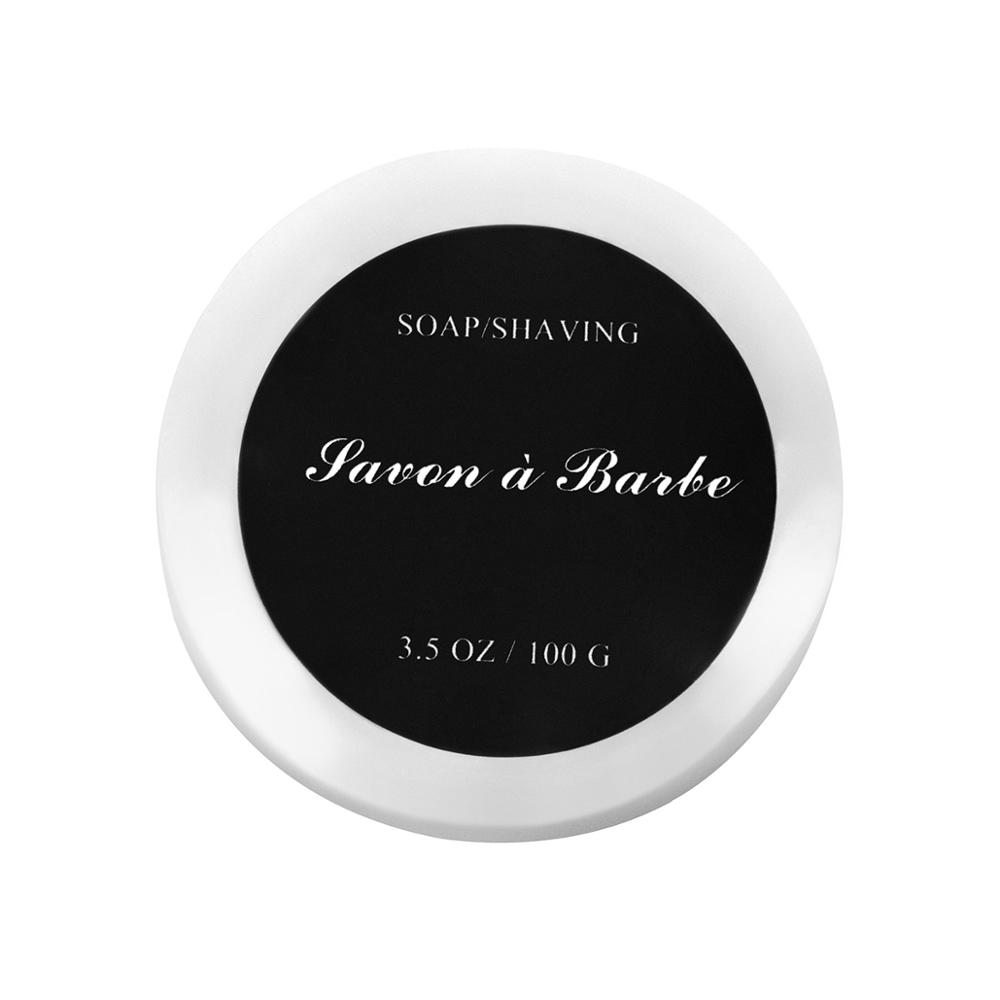 QSHAVE 1Pc Men Shaving Soap Goat Milk Foaming Lather Shave Beard Shaving Cream For Straight Razor Shaver Badger Shaving Soap