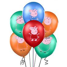 4 sztuk świnka Peppa zabawki figurki akcji Cartoon Anime Peppa George urodziny 12 cali lateksowe balony Party Decor dzieci prezent zabawka tanie tanio PEPPAPIG Model Unisex 40 cm Peppa Pig Balloon 12 inches Pierwsze wydanie 2-4 lat 5-7 lat 8-11 lat 12-15 lat Dorośli 14 lat