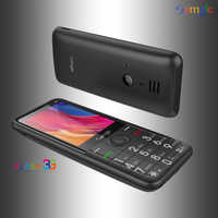"""3G WCDMA Bar funkcja telefon komórkowy prędkość wybierania Super długi czas czuwania 2.8 """"latarka z wyświetlaczem Internet Whatsapp starszy starszy telefon Samgle"""