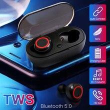 A2 tws sem fio bluetooth fones de ouvido estéreo alta fidelidade esporte fone à prova dgamágua fone controle botão gamer para smartphone