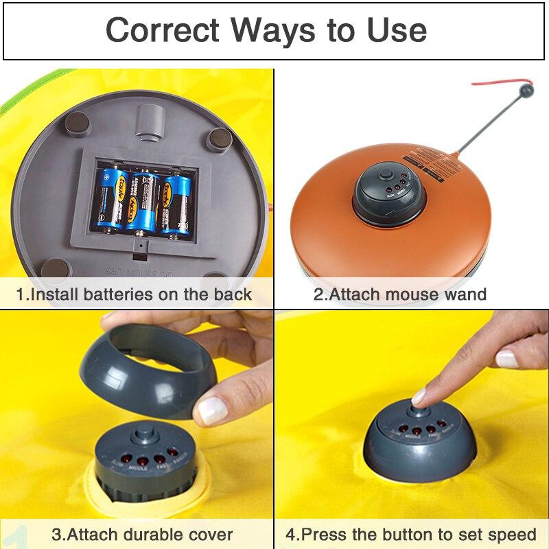 em movimento mouse jogo interativo meow brinquedo