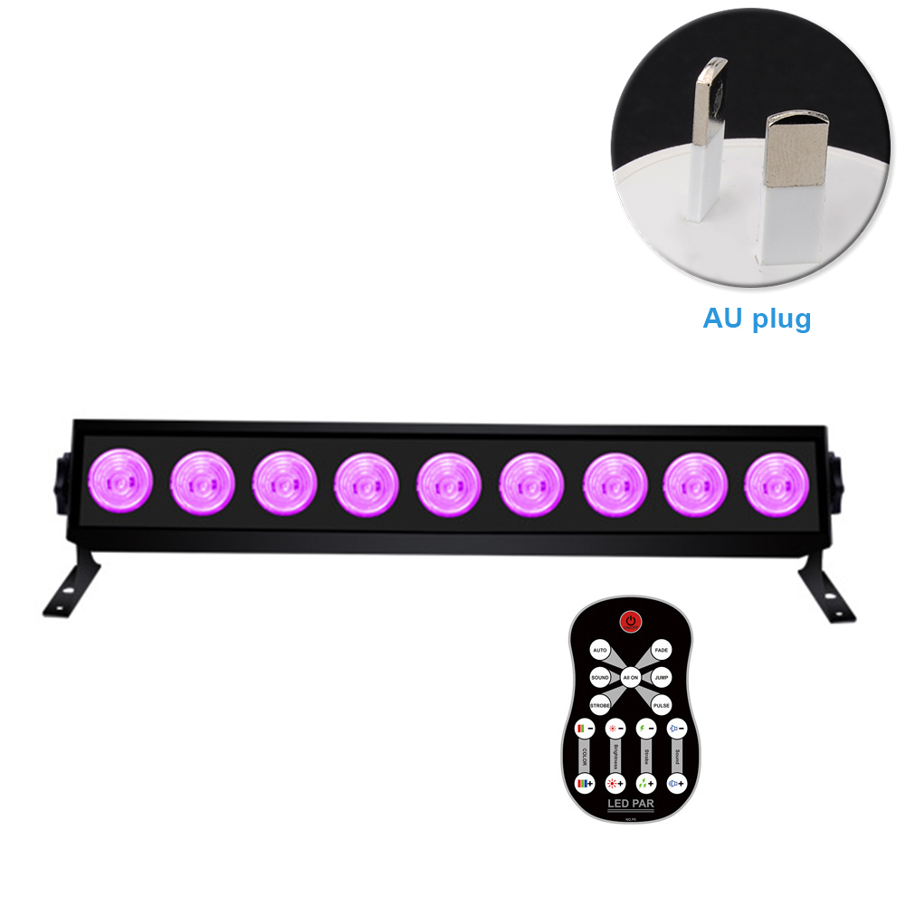 Remote Control Luminous Ultraviolet Decorative KTV Wall Lamp Bar Party DIY Stage Light Bright Club Hanging Halloween