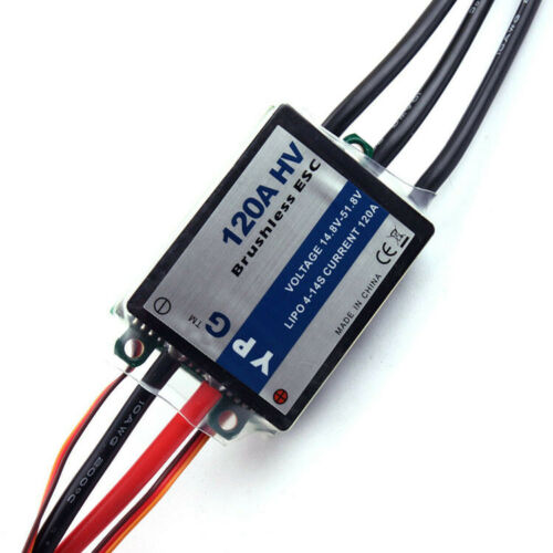 YPG HV-<font><b>120A</b></font> HV <font><b>ESC</b></font> 4S~14S SBEC Brushless Speed Controller For TREX 700 <font><b>RC</b></font> Helicopter airplane image
