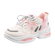 Women Sneakers White Platform Ladies Trainers Baskets Casual-Shoes Fashion