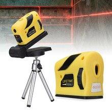 Nível do laser 3d auto nivelamento ferramentas de medição ponto/linha/cruz vertical horizontal 360 graus giratório 4 em 1 nível automático do laser