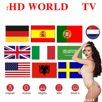 ipTV 1 Year Spain Arabic UK us french brasil Europe tv for Android box m3u xxx Smart TV box iptv no channels included