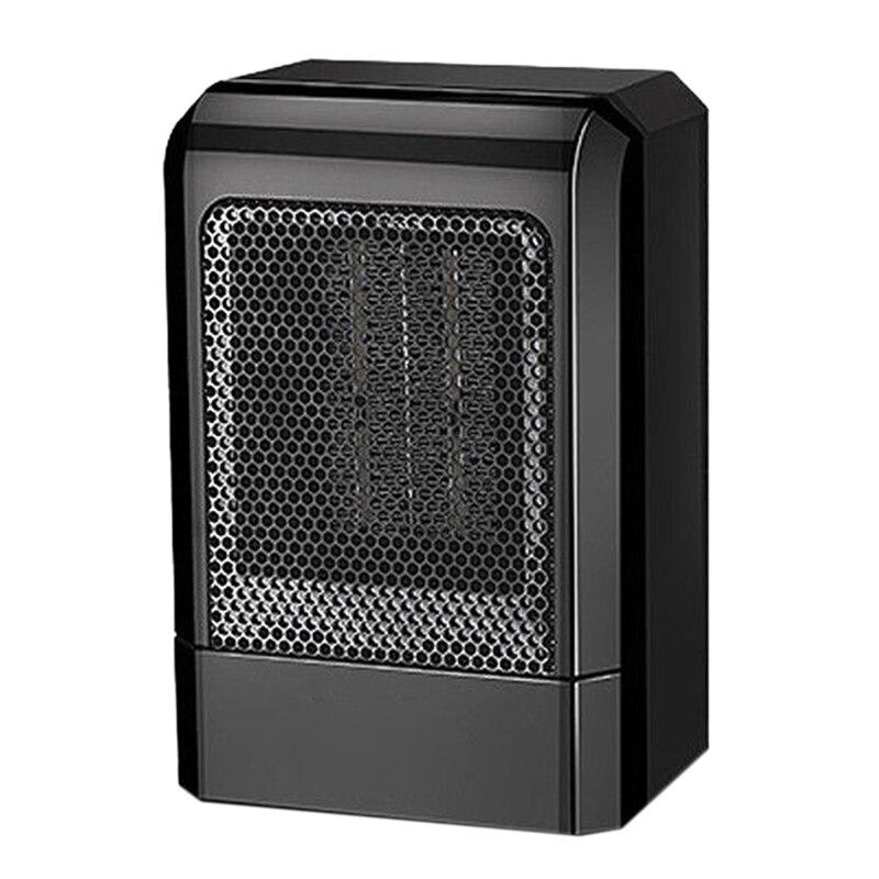 Portable Heater 500W Electric Cooler Hot Fan Home Office Winter Keep Warm Temperature High Temperature Diffuser (EU Plug)      - title=