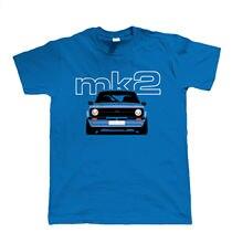 2019 Fashion O-Neck Men T-shirt Mk2 Escort T Shirt, Gift for Dad Him Christmas Car Fans