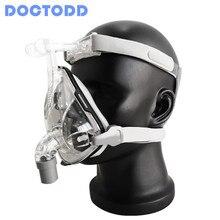 DOCTODD F1B маска на все лицо CPAP Авто сипап apap BIPAP маска на все лицо для против храпа апноэ сна помощь OSAS CPAP маска