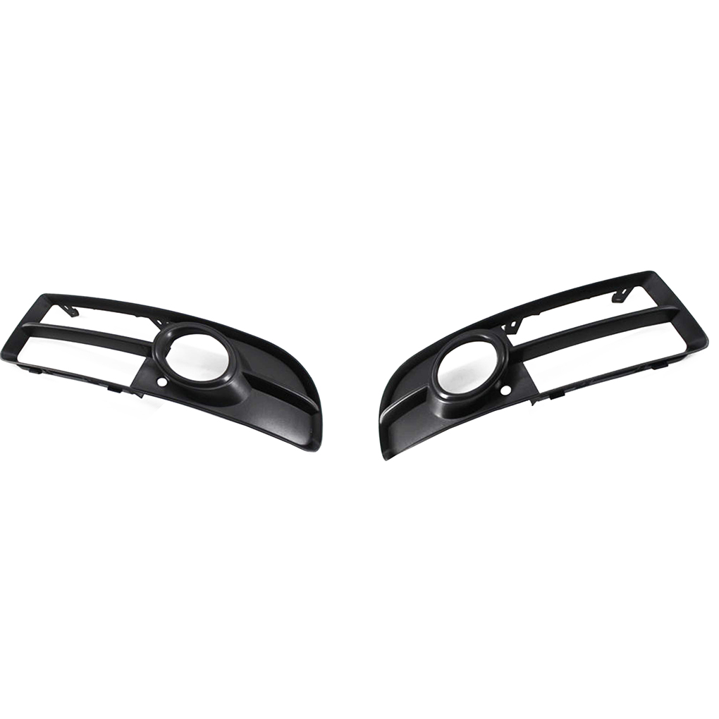 Left+Right Side 8E0807681F/8E0807682F Fog Light <font><b>Grille</b></font> Automobile Accessory Replacement for <font><b>A4</b></font> <font><b>B7</b></font> 05-08 image