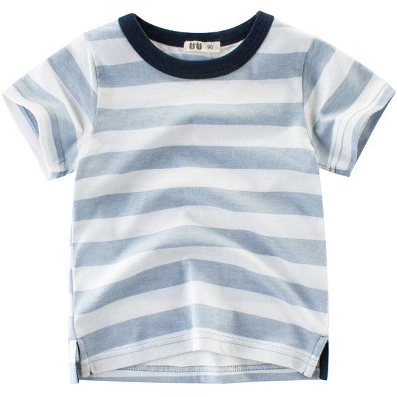 Blue Digger T-Shirts For Boy Cartoon Summer Tee Kid Clothing