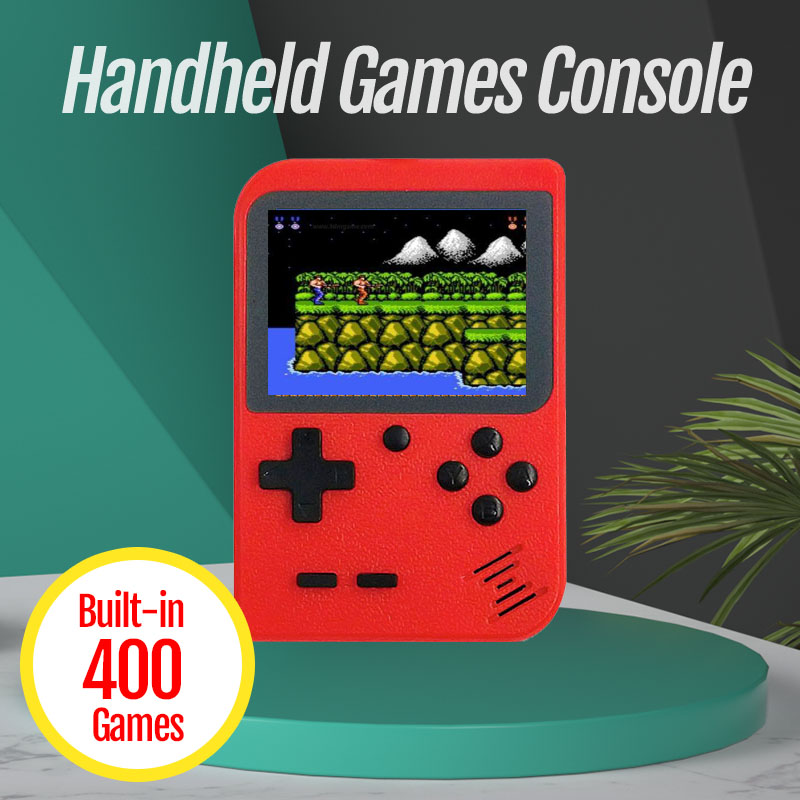 New 400 Games Console Retro Video Game Toys For Adults Mini Portable Console Handheld Gaming Consoles