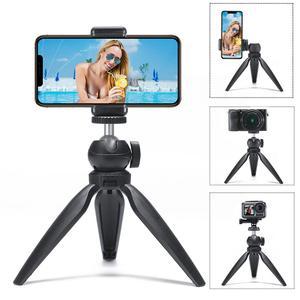 Image 1 - Mini trípode portátil con rotación de 360 grados, palo de Selfie para iPhone, Huawei, P30 Pro, GoPro Hero 7/6/5