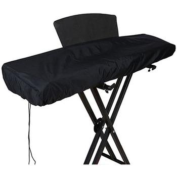 88 klawiszy elektroniczne pianino Keyboard osłona przeciwpyłowa wodoodporny odporny na kurz torby na klawiaturę pokrowce i przewód elastyczny zapięcie blokujące tanie i dobre opinie Nowoczesne 100 poliester