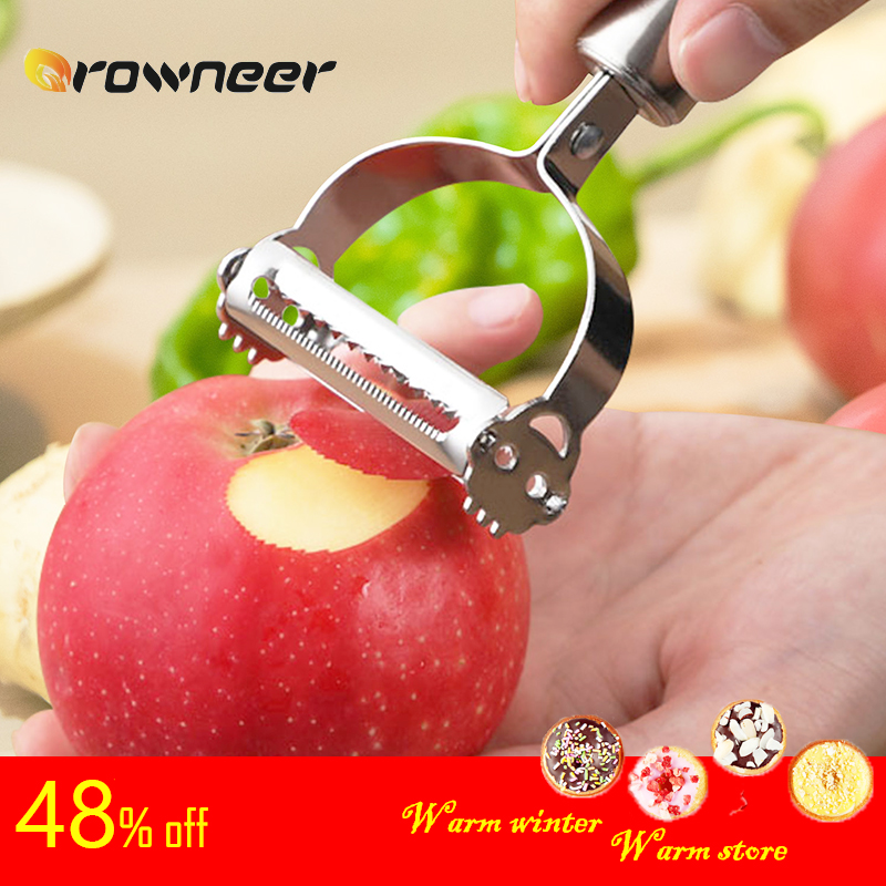 Fruit Vegetable Peeler Carrots Celery White Radish Potatoes Cutter Stainless Steel Knife Multifunctional Kitchen Cooking Tool