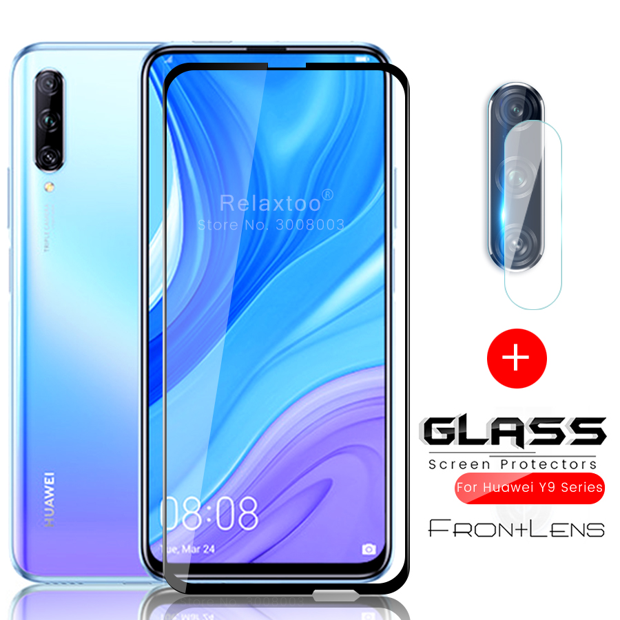2-in-1 Camera Protector For Huawei Y9s 2020 Y9 Y9prime 2019 Glass Protective Film Hauwei Y 9s 9 S 9 Prime 9prime Safety Glasses