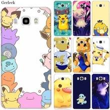 Mobile Phone Case for Samsung S7 Edge S8 S9 S10 S10e Note 8 9 10 Plus M10 M20 M30 M40 Cover Cute cartoon Pokemons