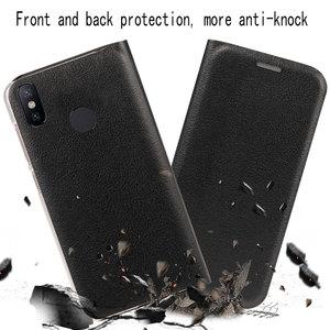 Image 5 - Phone Case For Xiaomi Mi 8 Lite flip wallet leather cover Xiomi Mi8 Mi8Se Mi8lite 8lite With Credit Card Pocket 360 Protective