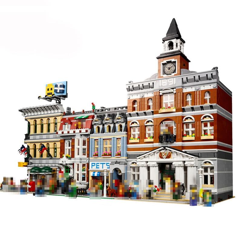 City Street View 15006 15010 15042 15005 15004 15003 15001 15010 15011 15008 15019 Model Building Block
