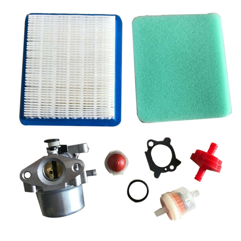 TOP Carburetor Air Filter For Briggs & Stratton Gold 6.25 6.75 Hp Mrs Push Mower 675 190Cc
