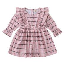 Одежда для маленьких девочек от 3 до 24 месяцев милое платье
