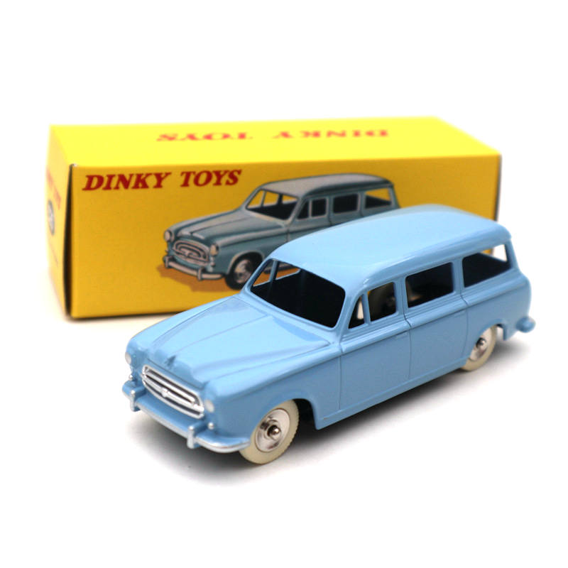 Atlas <font><b>1</b></font>:<font><b>43</b></font> Dinky toys 525 Familiale 403 <font><b>Peugeot</b></font> Diecast <font><b>Models</b></font> Collection image