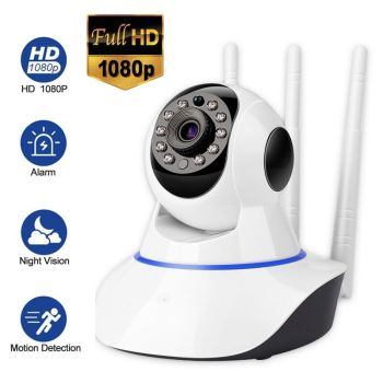 1080P HD IP Wireless Camera Home Security Camera Night Vision Baby Monitor CCTV Camera Wifi Smart Alarm infrared Indoor Camera