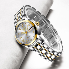 LIGE Fashion Women Watches Rose Gold Ladies Bracelet Reloj Mujer 2020 New Creative Waterproof Quartz For