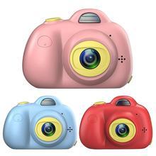 Детская камера игрушки с 32 Гб sd-картой анти-капля и ударопрочный милый двойной объектив Цифровая видеокамера игрушки подарок на Рождество