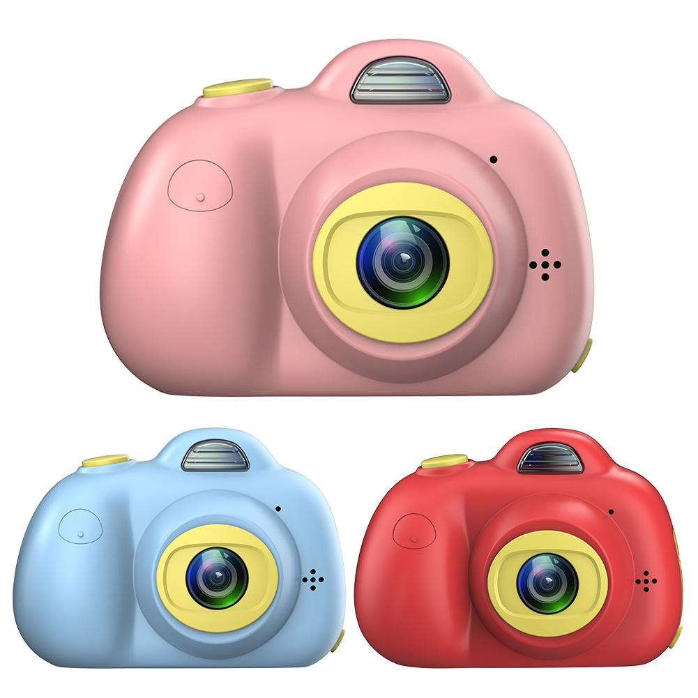 Kids Camera Toys With 32GB SD Card Anti-drop And Shockproof Cute Double Lens Digital Video Camera Toys Gift For Christmas