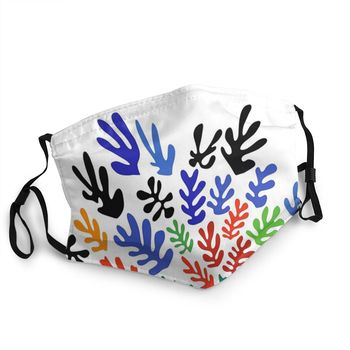 Matisse Floral Adult Reusable Mouth Face Mask Pattern Dustproof Mask Protection Cover Respirator Mouth Muffle