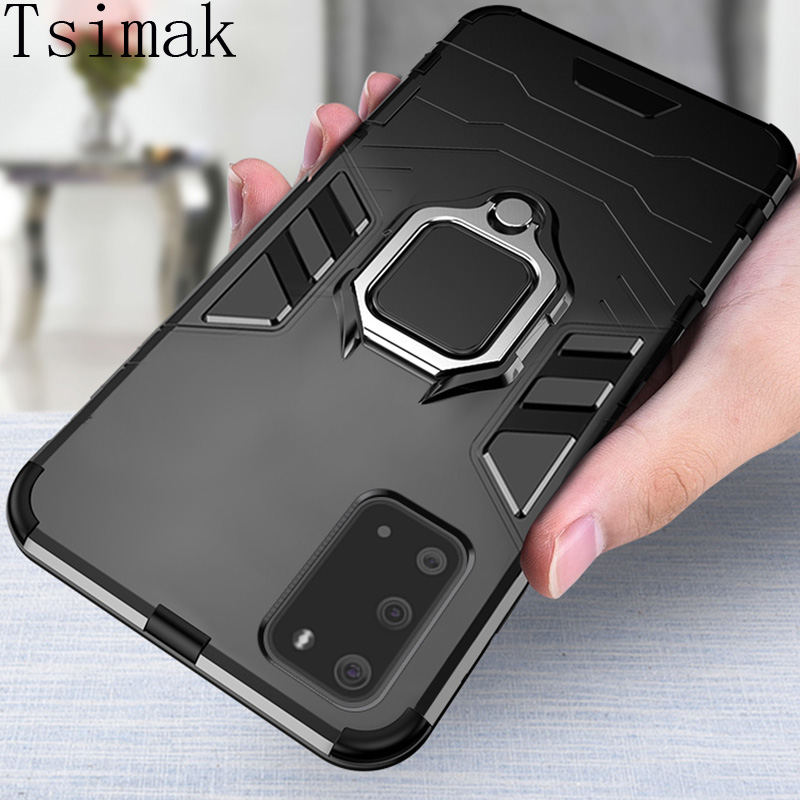 Shockproof Armor Case Voor Samsung Galaxy S8 S9 S20 Ultra S10E S10 Lite Note 10 Plus A8 A7 A9 J4 Prime J6 2018 Back Phone Cover