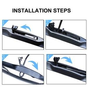 Image 5 - Cadillac için CT6 2015 2016 2017 2018 2019 2020 aksesuarları araba ön cam silecek lastikleri fırçalar kesici U tipi J kanca
