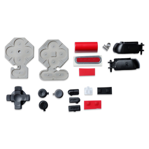 Image 5 - 닌텐도 DS 게임 콘솔에 대 한 단추와 주택 셸 교체 방진 보호 케이스 커버 단추 키 수리 부품