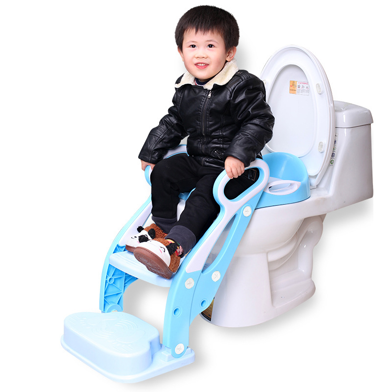 A Pieces Of Hair Toilet For Kids Men's Infant Potty Chair Kids Chamber Pot Ladder Baby Toilet Seat Women's CHILDREN'S Toilet