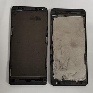 Image 3 - Azqqlbw משמש מסגרת עבור HTC U12 + U12 בתוספת מול דיור אמצע מסגרת עם לחץ חיישן להגמיש כבל replacment תיקון חלקי