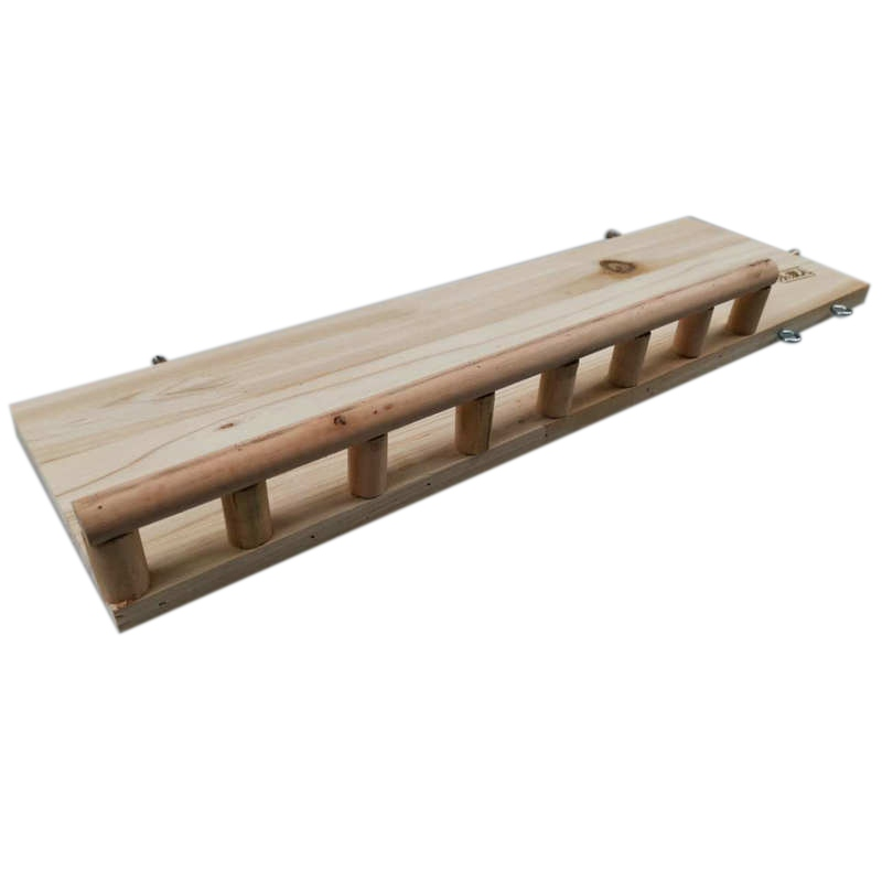 Hamster Holz Plattform Mit Geländer Pet Schleifen Zähne Sprungbrett Spielzeug Sicher Zu Kauen Brücke Für Kleine Tier Spielzeug