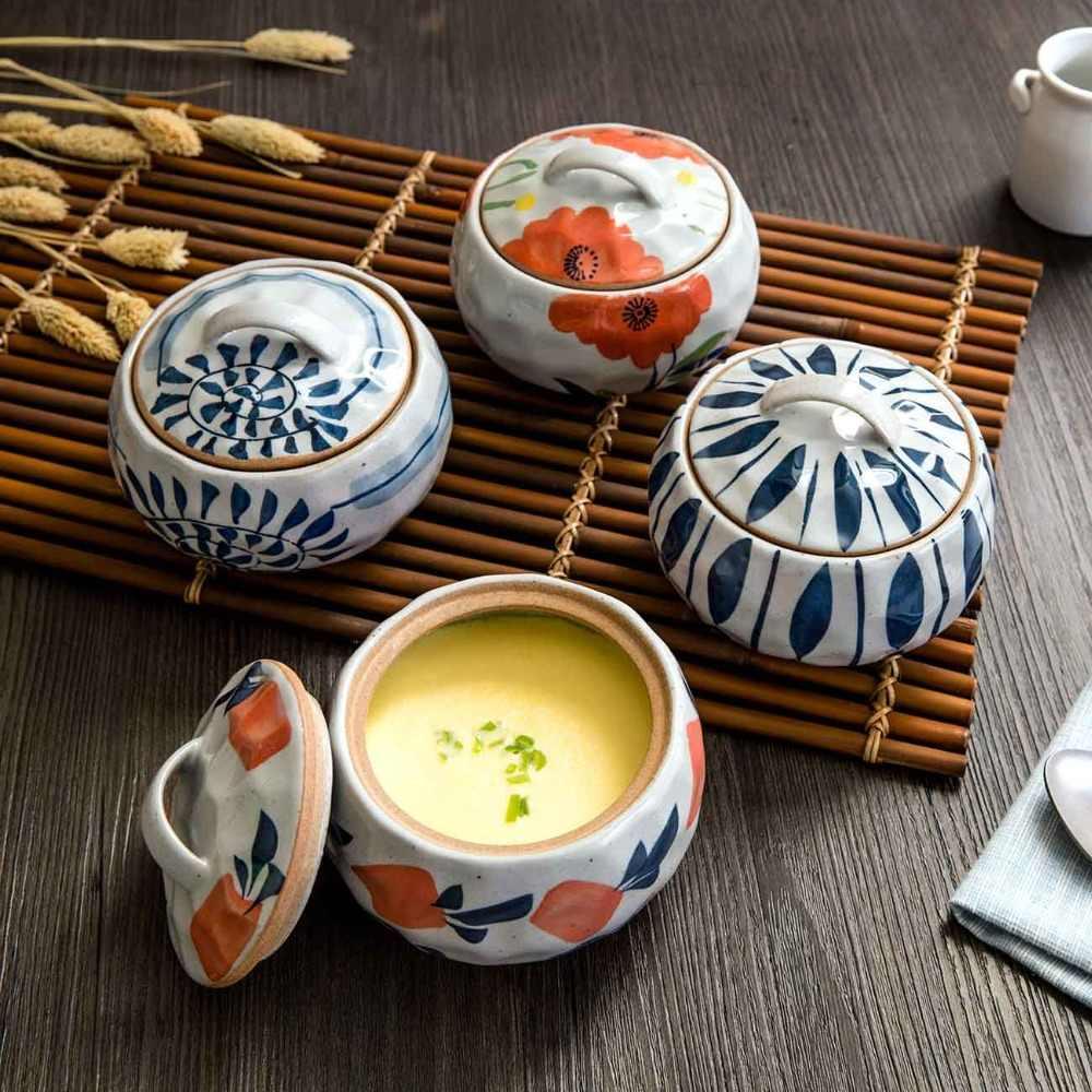 Керамическая кухонная посуда для приготовления пищи высокотемпературный чайник Stew маленькая Керамическая форма для запекания яйцо молоко Сковорода Кухня паровые горшки